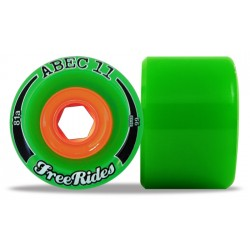 """Abec 11 """"FreeRides"""" 66mm (4 roues)"""