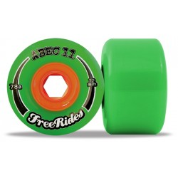 """Abec 11 """"FreeRides"""" 72mm (4 roues)"""