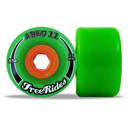 """Abec 11 """"FreeRides"""" 77mm (4 roues)"""