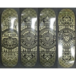 Stereo x Obey set of 4
