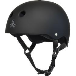 Triple 8 Brainsaver All Black Rubber