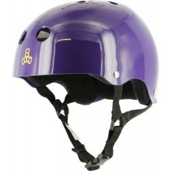 Triple 8 Brainsaver Purple Glossy